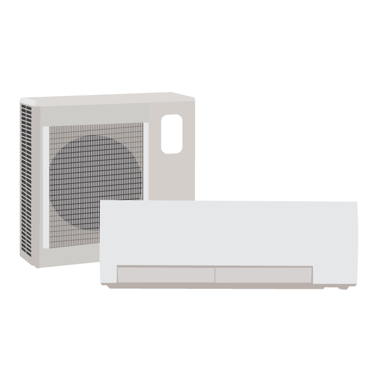 Ductless split systems are incredibly efficient heating and cooling systems! Get yours today and start saving!